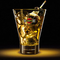 MARTINI / DOLCE & GABBANA Glass(Gold)