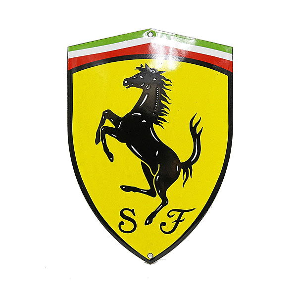 Ferrari SF Emblem Sign Boad