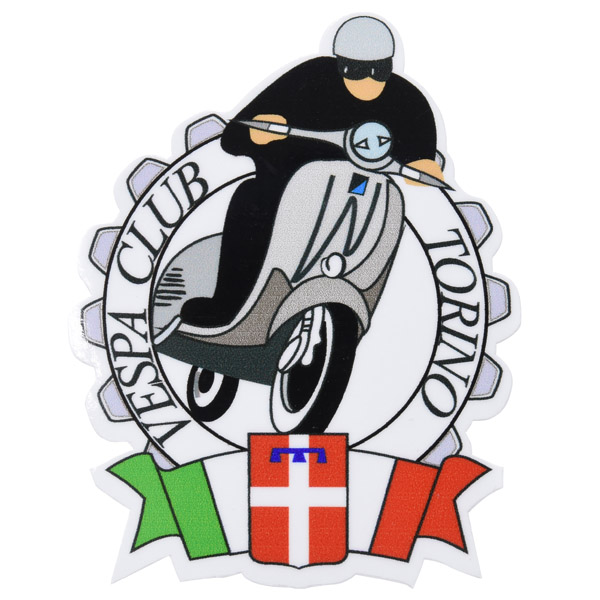 Vespa Club Torino Sticker