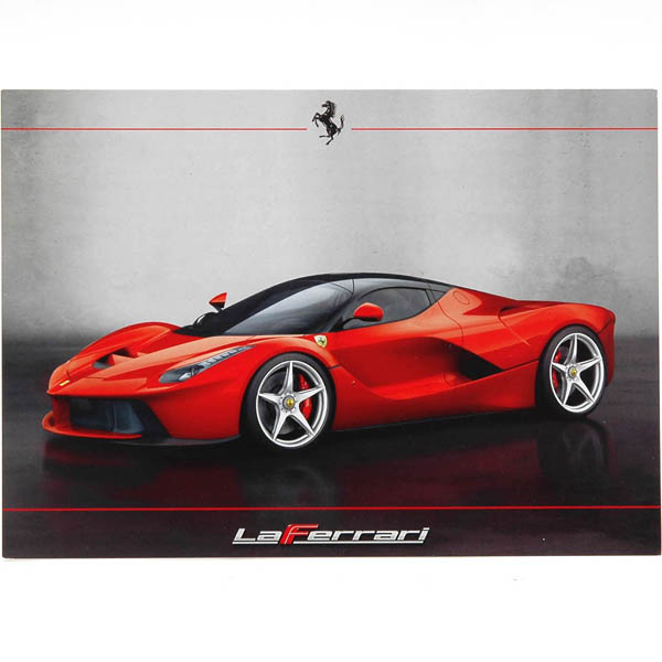 La Ferrari Promotion Card