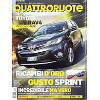 Quattroruote April 2013
