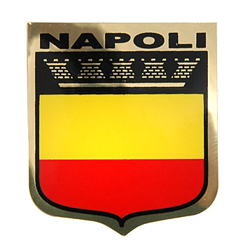 CITY SYMBOL Sticker NAPOLI