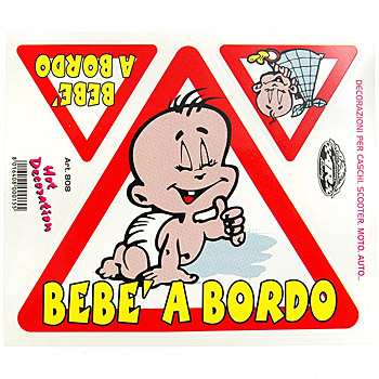 BEBE A BORDO Sticker