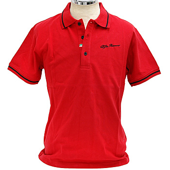 Alfa Romeo Polo Shirts(for Men/Red)