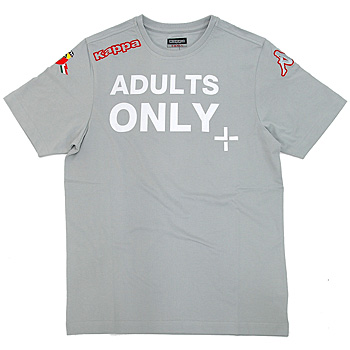 ABARTH t-shirts -ADULTS ONLY/Gray - by Kappa