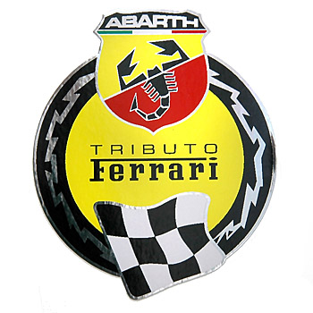 ABARTH 695 TRIBUTO Ferrari Sticker