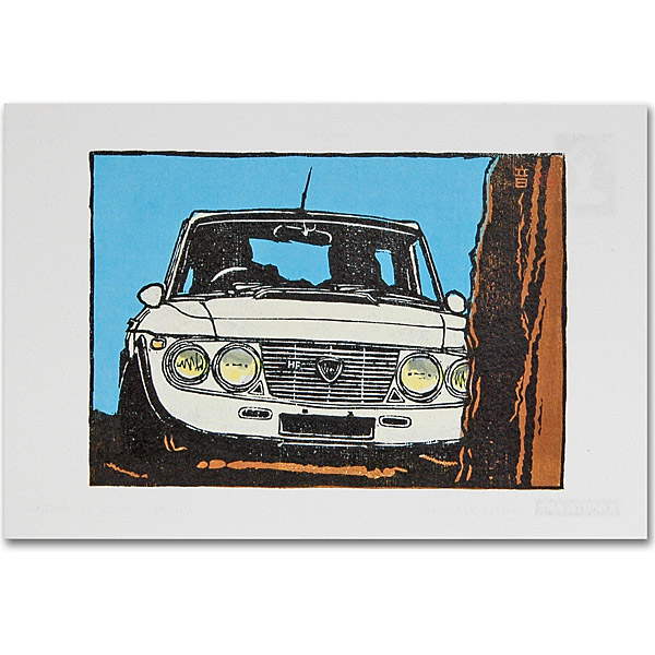 LANCIA Fulvia Post Card