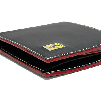 Ferrari Leather Wallet(Black)