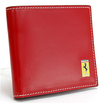 Ferrari Leather Wallet(Red)