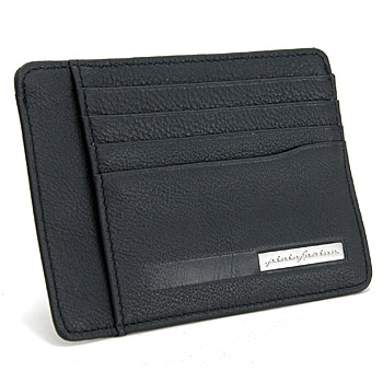 Pininfarina Leather Card Holder PERGUSA by BRICS (Black)(BP908861-099)