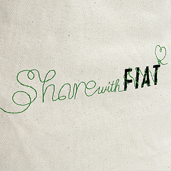 FIATShare With FIAT Tote Bag(Large)