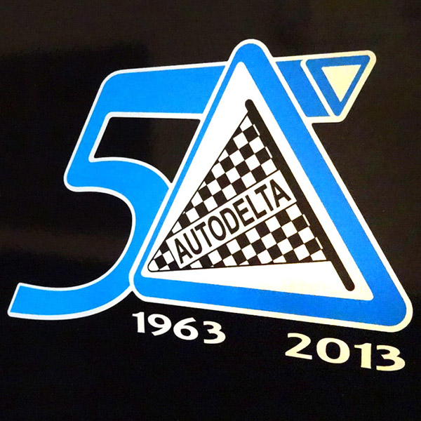AUTODELTA 50anni Memorial Sticker (Die Cut) by RIA(Registro Italiano Alfa Romeo)