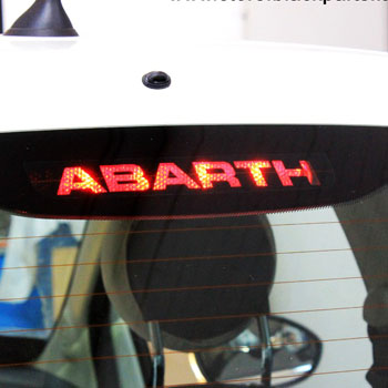 ABARTH 500 Brake Lamp Sticker(Die Cut)<br><font size=-1 color=red>02/21到着</font>