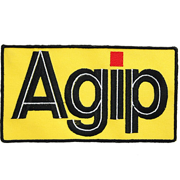 Agip Patch(195mm*108mm)