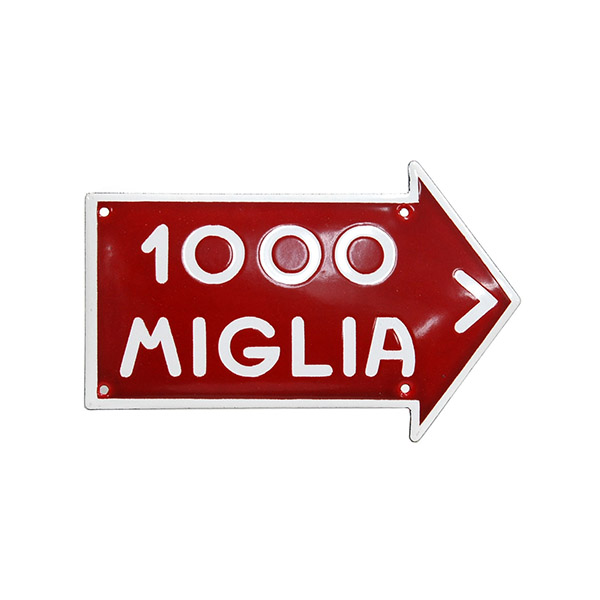 1000 MIGLIA Sign Boad(Small)