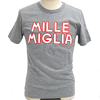 1000 MIGLIA OFFICIAL Lettered T-shirts