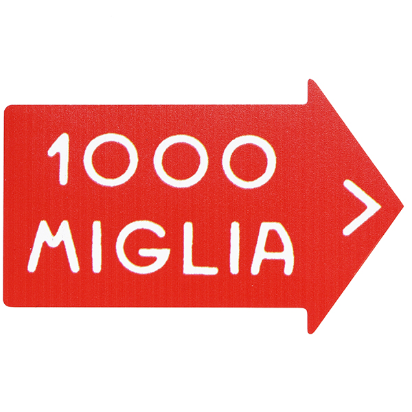 1000 MIGLIA Official Sticker(L)