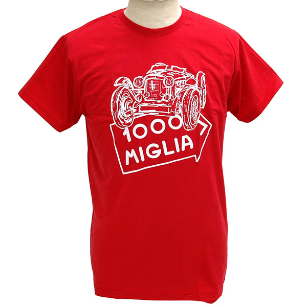 1000 MIGLIA Official T-shirts(Irrustration)