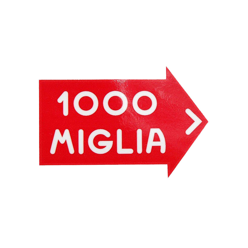 1000 MIGLIA Official Sticker S