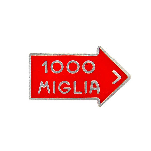 1000 MIGLIA Official Pin Badge Type B
