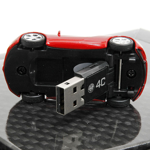 Alfa Romeo 4C Miniature Model Shaped USB Memori(4GB)