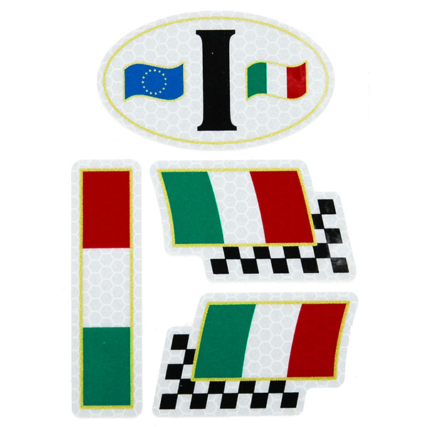 Italian Flag Sticker Set(Reflection/Type A)