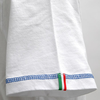 ABARTH T-shirts -SIZE SHAPE SPEED & SPIRIT-(White)