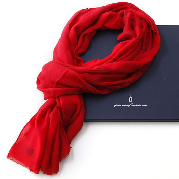 Pininfarina 80anni Memorial foulard (Red)