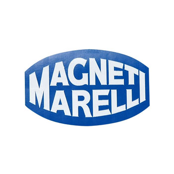 MAGNETI MARELLI Logo Sticker(Blue)