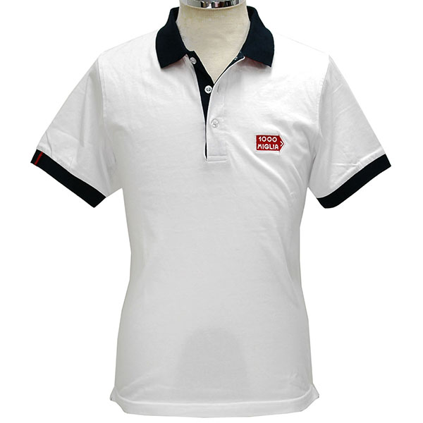 1000 MIGLIA Official Polo Shirts(White)
