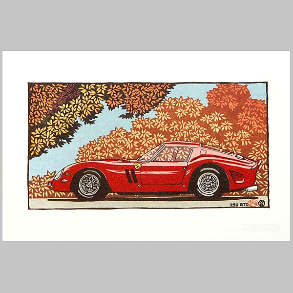 Ferrari 250GTO Post Card