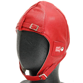 1000 MIGLIA Official Leather Helmet(Red)