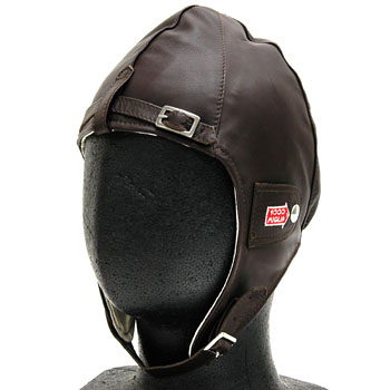 1000 MIGLIA Official Leather Helmet(Brown)