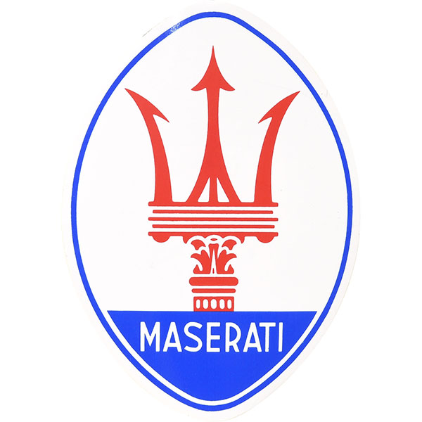 MASERATI Emblem Sticker(Large)