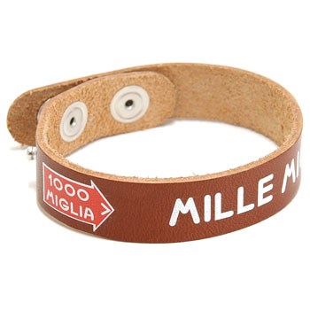 1000 MIGLIA Official Leather bracelet