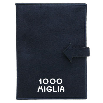 1000 MIGLIA Official Document Case(Navy)