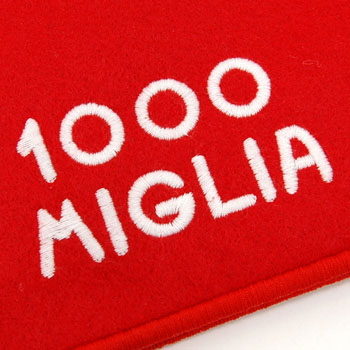 1000 MIGLIA Official Document Case(Red)