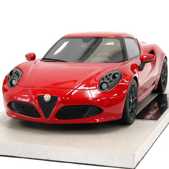 1/18 Alfa Romeo 4C Miniature Model