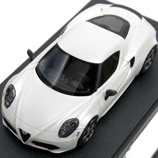 1/43 Alfa Romeo 4C Miniature Model-Launch Edition-