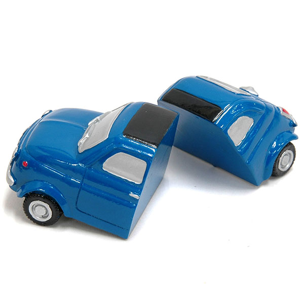 FIAT 500 Magnet Miniature Model(Blue)