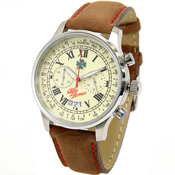 Alfa Romeo Vintage Chronograph Watch<br><font size=-1 color=red>09/02到着</font>