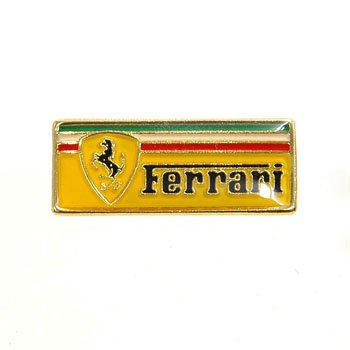 Ferrari Logo Pin Badge