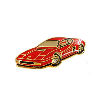 Ferrari Testarossa Pin Badge