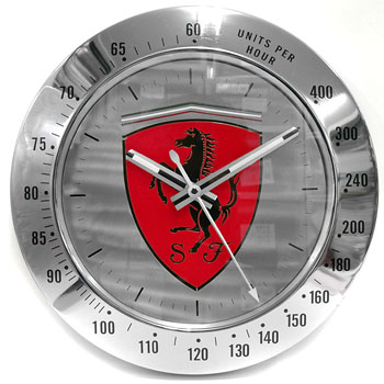 Scuderia Ferrari Wall Clock(Red)