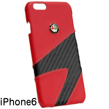 Alfa Romeo iPhone6/6s Case-Synthetic(Red)-
