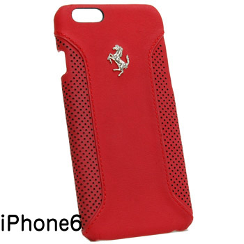 Ferrari iPhone6/6s Leather Case-F12/Red-