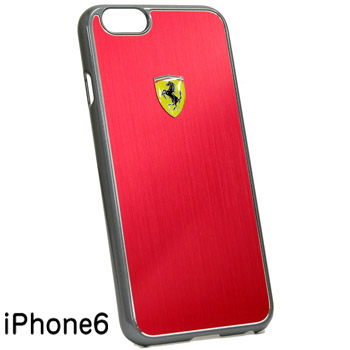 Ferrari iPhone6/6s Hard Case-F1/Red-