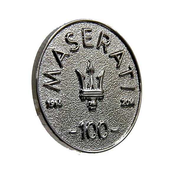 MASERATI 100 anni Memorial Pin Badge