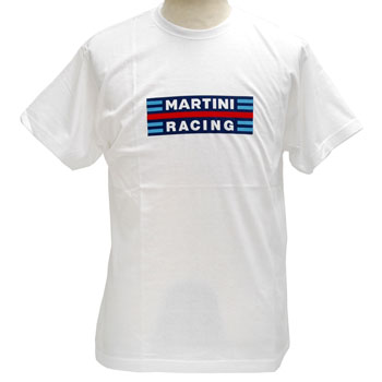 MARTINI RACING T-Shirts(White)
