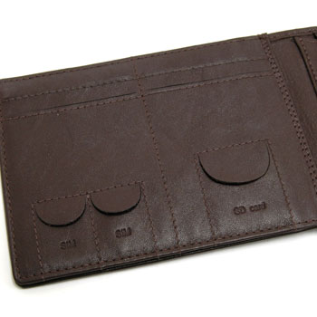Tazio Nuvolari Official Wallet(Brown)